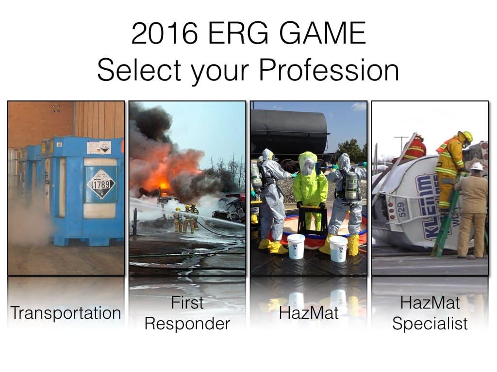 DOT ERG Game