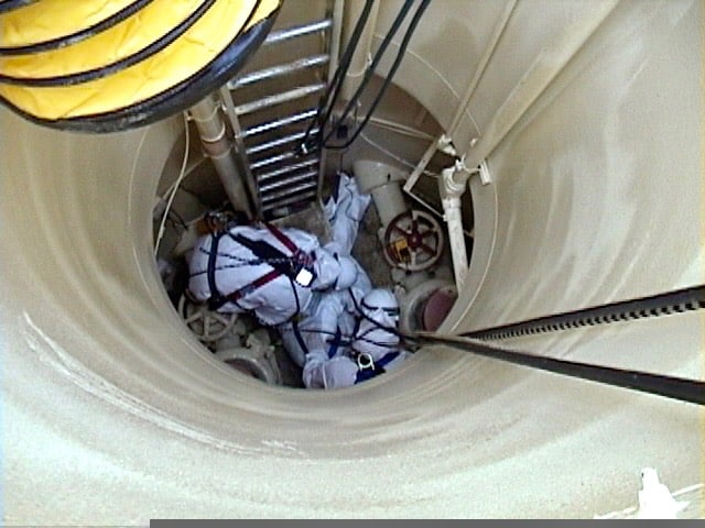 When does OSHA require a Confined Space Rescue Team?