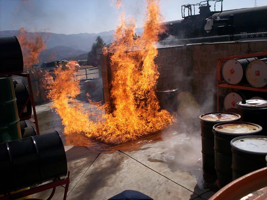 HazMat Fire