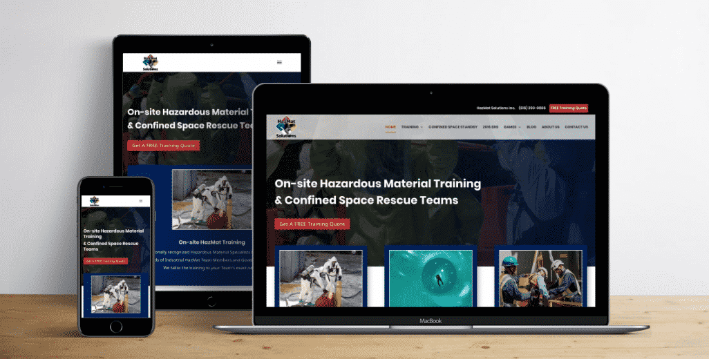 HazMat Solutions launches new website and expanded online services in honor of 20 years in business.