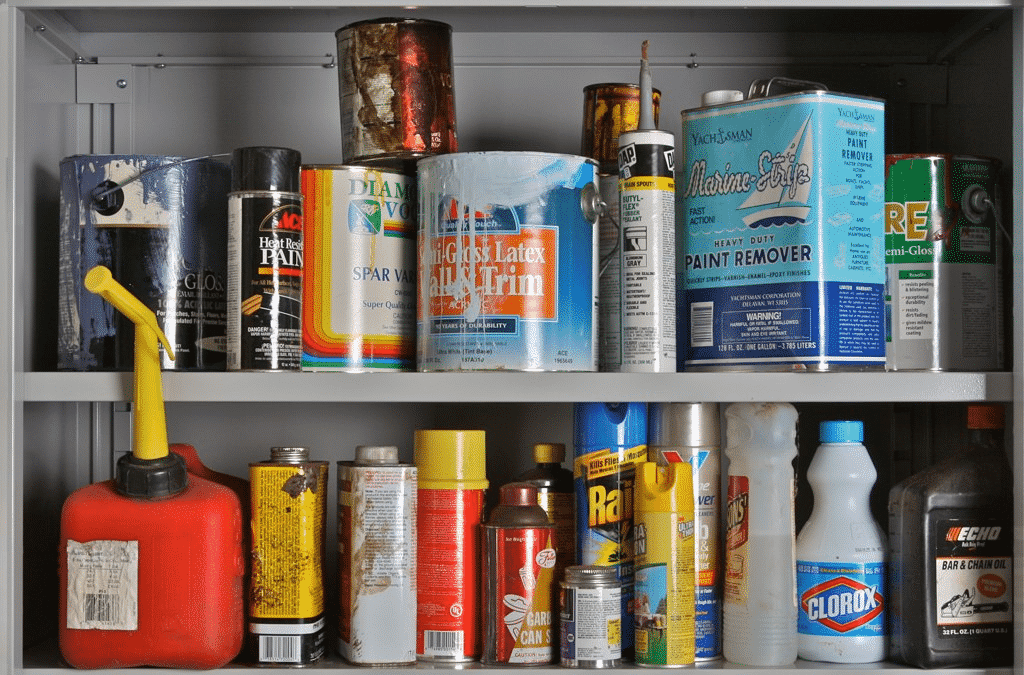 Household Hazardous Materials Examples