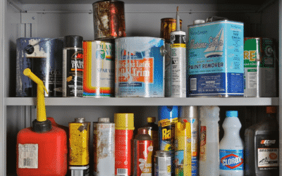 How do I get rid of paint, used oil, lithium batteries, mercury lamps, and other household hazardous waste?